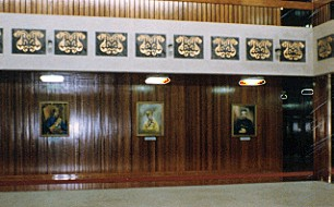 Historic Portraits of Brunei's Sultans in the Lapau - Official Portraits by Mai Griffin