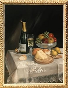 Cava y Queso by Mai Griffin