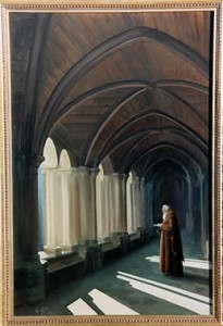 Cloister Prayer by Mai Griffin