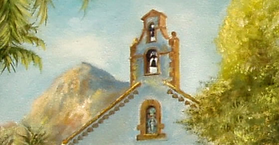 The Convent - Javea - Detail by Mai Griffin