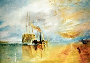 The Fighting Temeraire - after Turner by Mai Griffin