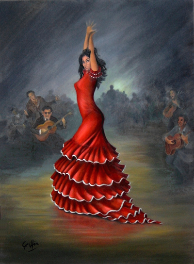 Flamenco Dancer by Mai Griffin