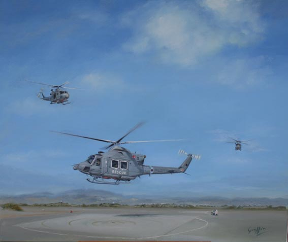 Return of 84 Squadron - Griffin Helicopters in Cyprus by Mai Griffin