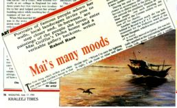 Mai's Many Moods Excerpt from the Khaleej Times Art Section