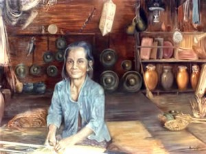 Long Hut Woman - Brunei in the Eighties by Mai Griffin