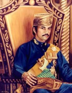 H.M.The Sultan of Brunei c. 1959 - Official Portrait by Mai Griffin