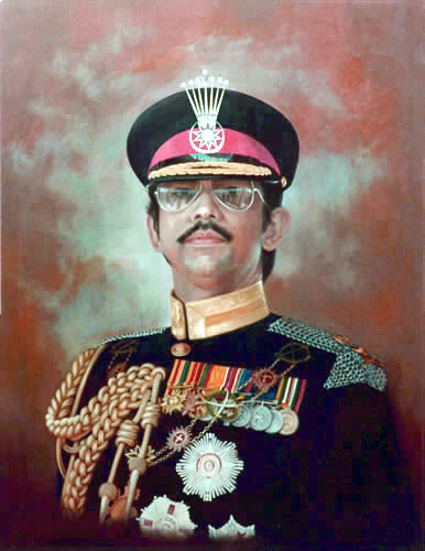 H.M.The Sultan of Brunei - Official Portrait by Mai Griffin