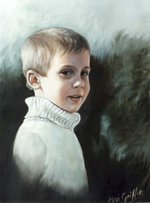 Michael-John aged Six by Mai Griffin