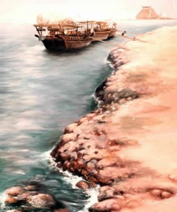 Qatar Dhows - Qatar in the Eighties by Mai Griffin