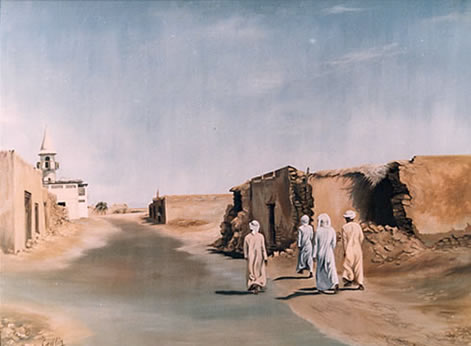 Wakrah - Qatar in the Eighties by Mai Griffin