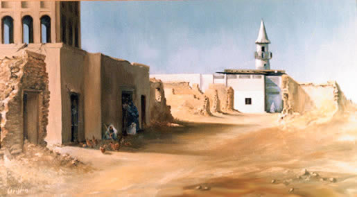 Wakrah, Shadows of the Past - Qatar by Mai Griffin