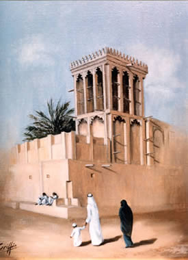 The Windtower, Qatar by Mai Griffin