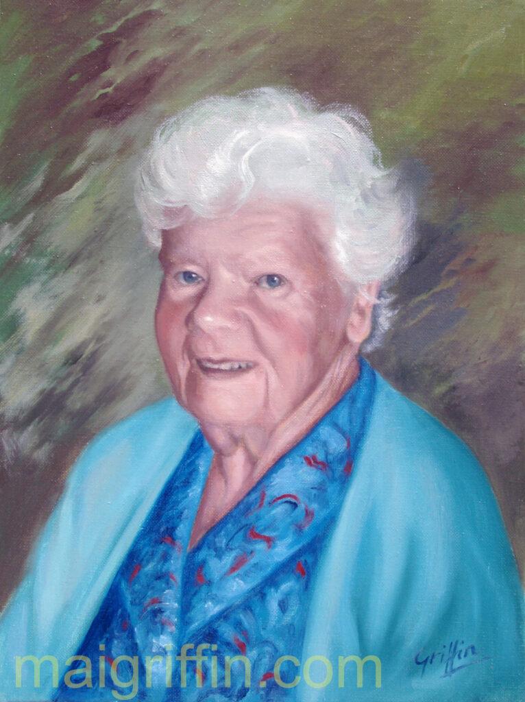 Portrait by Mai Griffin