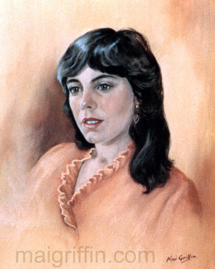 Dawn (c.1973) by Mai Griffin