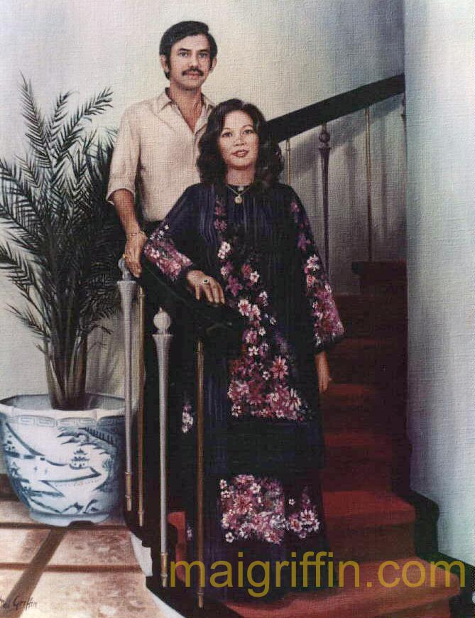 Portraits (Brunei c. 1981) by Mai Griffin
