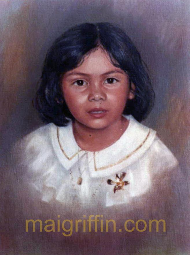 Portrait (Brunei c. 1980) by Mai Griffin