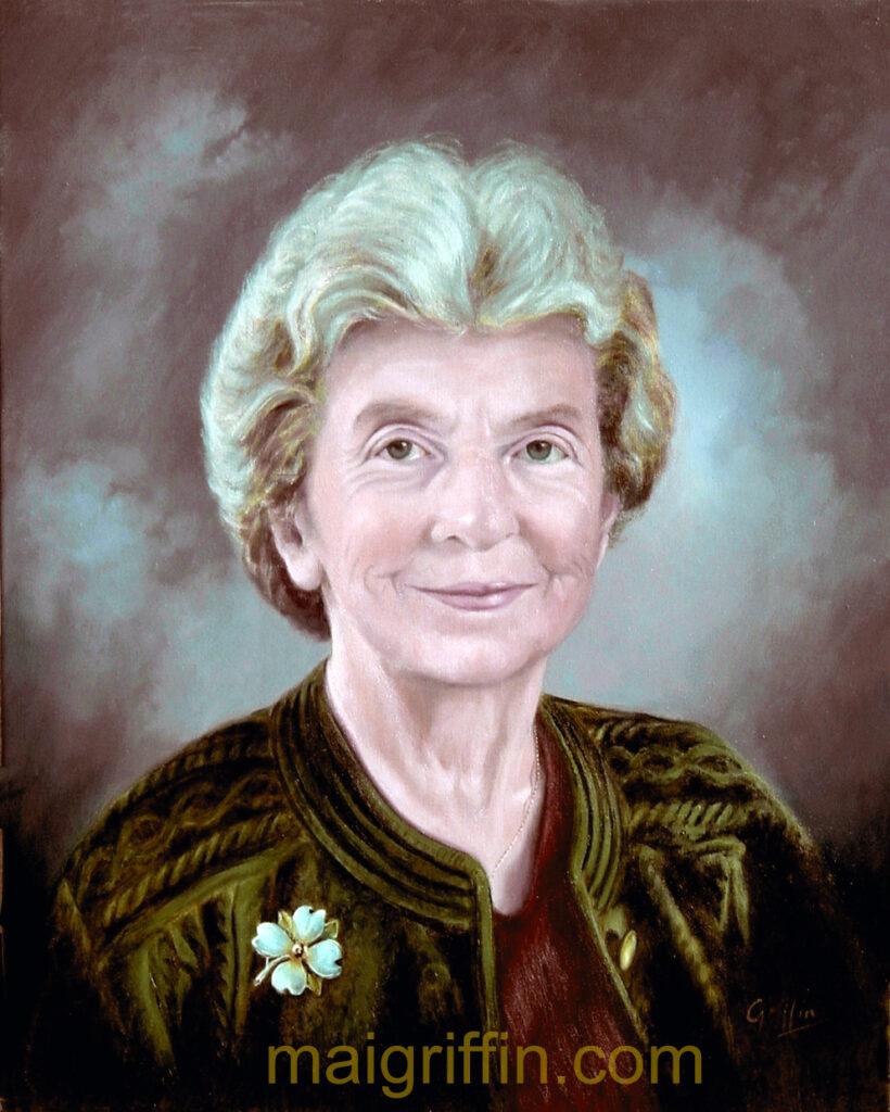 Nancy Crichton by Mai Griffin