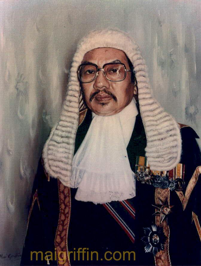 Portrait ( c.1982 Brunei) by Mai Griffin