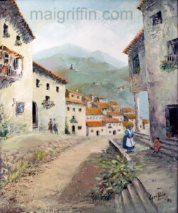The Village Retro by Mai Griffin (c.1990)